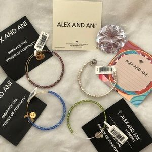 4 Brand New Alex and Ani's with Tags!!!